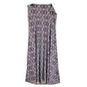 LuLaRoe Maxi Skirt sz Medium Purple